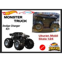 Hotwheels Hot Wheels Monster Truck Giant Wheels Ukuran Skala 1:24