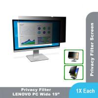 "3M Anti Spy Privacy Filter for Lenovo PC Wide 19.0"""