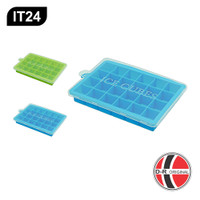IT24 Cetakan Es Batu Silikon / Silicone Ice Cube Tray (24 Kotak)