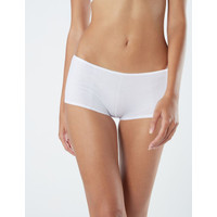 Boyshort Maidenform Cotton Stretch White