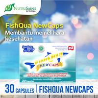 FISHQUA NEWCAPS 30 CAPSULES (SQUALENE+VIT E)