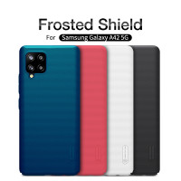 Nillkin Casing Super Frosted Shield Hard Case Samsung Galaxy A42 5G