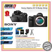 Sony Alpha A7 Mark II Body Only Mirrorless Digital Camera
