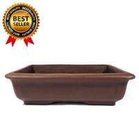 Pot Bonsai Mame Dan Small Model Keramik Persegi Besar