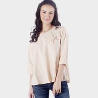 Blouse Wanita / Niu Orange Shirt 23524D5OR - Ninety Degrees