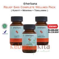 Herbana Relief Sari Complete Wellnes Pack