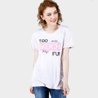 Kaos Wanita / Mirth Brown Tee 12603D4BW - Ninety Degrees