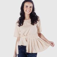 Blouse Wanita / Sunkist Orange Shirt 22503D5OR - Ninety Degrees