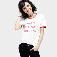 Kaos Wanita / Lol Offwhite Tee 12571D6OW - Ninety Degrees
