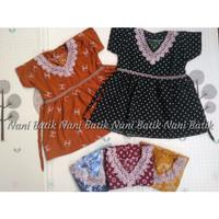 Baju Anak Perempuan 1-2 tahun Dress Anak Daster anak Rayon Adem Motif