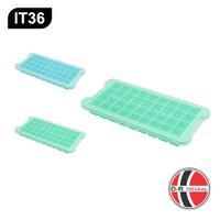 IT36 Cetakan Es Batu Silikon / Silicone Ice Cube Tray (36 Kotak)
