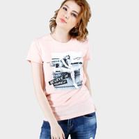 Kaos Wanita / Cesla Salem Tee 12607D4SL - Ninety Degrees