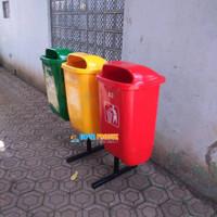 Tempat Sampah Pilah 3 Organik Nonorganik dan B3