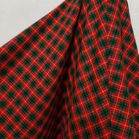 Kain Kotak Semi Wool (merah,hijau,kuning)