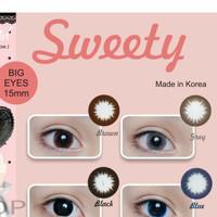 Softlens minus sweety big eyes 15ml - Cokelat