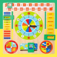 TweedyToys - Mainan Kognitif Papan Kalender Multifungsi Tanggal Jam