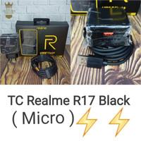 Charger/Casan Realme R17 Micro Black Super VOOC Original