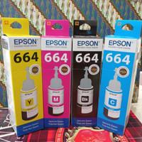 dealer resmi tinta epson 664 original L100,L110,L120,L200,L210,L310 - Hitam
