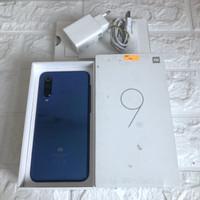 Xiaomi Mi 9 SE ram 6GB 128GB Blue Bekas - Mulus - Fullset global
