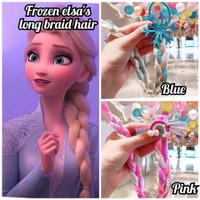 frozen elsa long hair/ikat rambut frozen/ikat rambut palsu frozen elsa