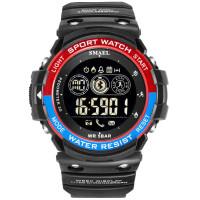 SMAEL Sport 1602 Original Jam Tangan Pria Digital BluetoothTahan Air