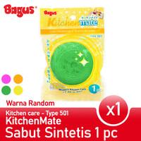 Bagus Kitchenmate Sabut Pembersih Plastik 1pc Tipe 501