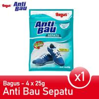 Bagus Anti Bau Sepatu Penghilang bau Sepatu 4x 25 gr W-20321