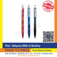 Ballpoint - Pilot - BRG-10 RexGrip (each)