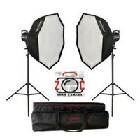 Paket Godox SL60W LED Video Light Studio SL60 Continuous Lighting 60w