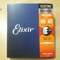 senar gitar Elixir electric elektrik uk 09---42 full set 1sampai6.