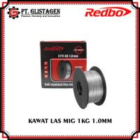 Kawat Las Flux Core 1.0MM 1kg E71T-GS Tanpa Gas CO2