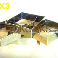 RING ROTI KOTAK SQUARE UK8X8X3