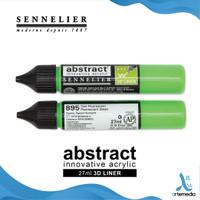 Cat Akrilik Sennelier Abstract Liner 27ml 3D Applicator Acrylic Paint