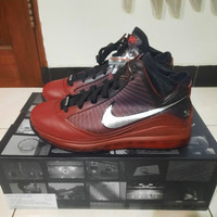 Sepatu Basket Lebron 7 Christmas sz 44,5 BNIB Original