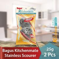 Bagus Sabut Stainless Scourer kawat cuci piring 25 g 2pc 509