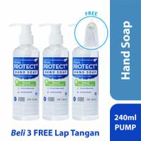 Prima Protect+ Hand Soap 240ml (Bundling 3 Pcs)