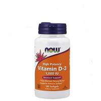 now foods vitamin D3 1000iu isi180