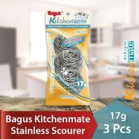Bagus Sabut Stainless Scourer kawat cuci piring 17 g 3pc 511