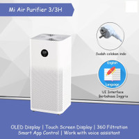 Xiaomi Mi Air Purifier 3/3H OLED Touch Display Multifunction 400 CADR