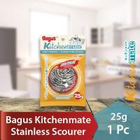 Bagus Sabut Stainless Scourer kawat cuci piring 25 g 1pc 508