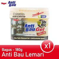 Bagus Anti Bau Lemari Rak Penghilang bau Lemari Rak 180 gr W-20320
