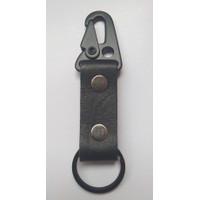 Gantungan Kunci Kulit Model Snap Hook – Kulit Sapi