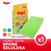 Bagus Sabut Spons Selulosa 1pc Sponge cuci piring 558