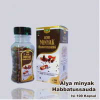 Minyak Habbatussauda 100 kpsl ALYA   Memelihara Kesehatan