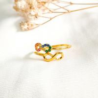 Ring Princess Infinity Hadiah Pacar Gold Shop Cincin Wanita Emas asli