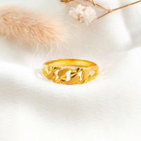Ring Princess Anyaman Hadiah Pacar Gold Shop Cincin Wanita Emas asli