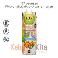 137 degrees Walnut Milk Matcha Latte 1Liter