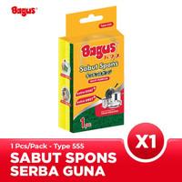 Bagus Sabut Spons Multipurpose 1pc Sponge cuci piring 555
