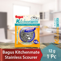 Bagus Sabut Stainless Scourer kawat cuci piring 12 g 1pc 512