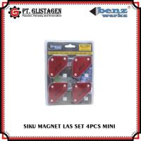 Magnet Holder Welding Arrow Magnetic Siku Magnet Las 4 Pcs